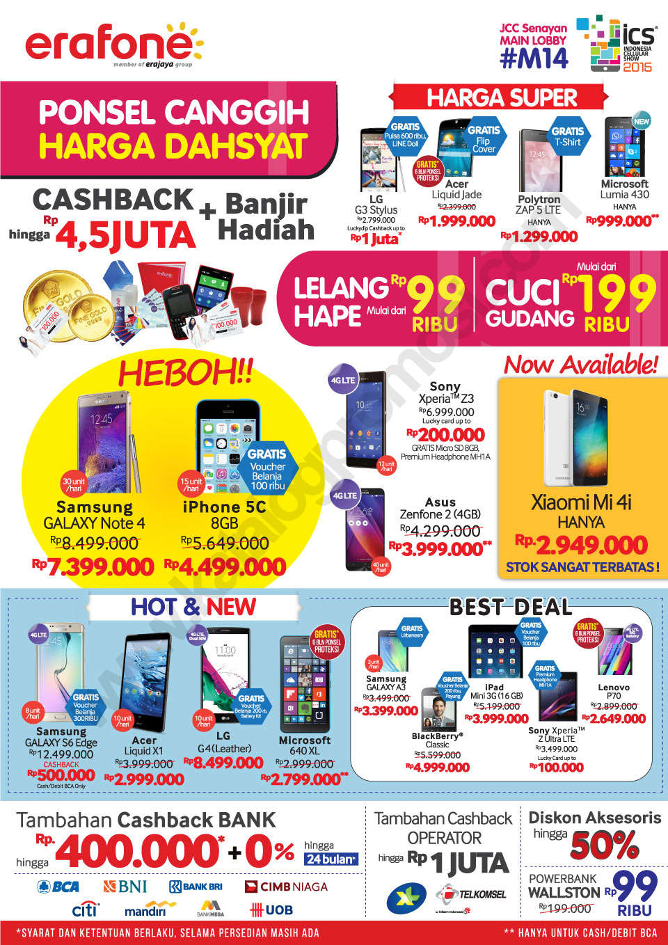 ERAFONE PROMO DI INDONESIA CELLULAR SHOW 2015